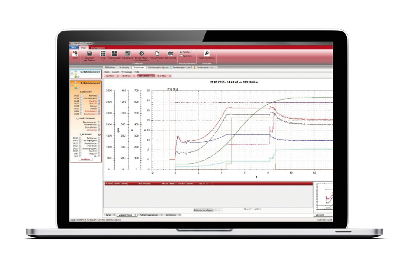 REFUdriver software for parameterization and commissioning